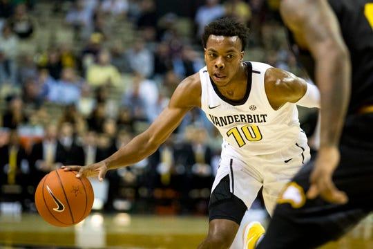 Darius Garland played just five games for Vanderbilt before a knee injury ended his season.