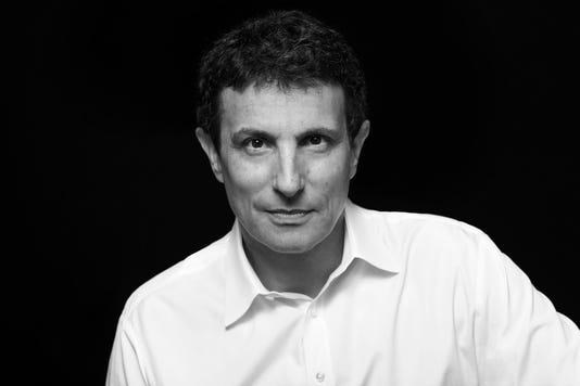 David Remnick Photographed By Brigitte Lacombe