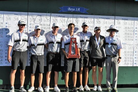 Gulf Coast boys golf