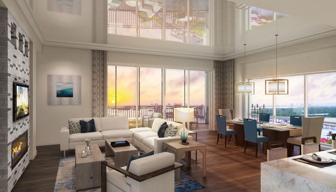 Grandview at Bay Beach will feature 58 open-concept residences ranging from 2,400 to 2,900 square feet with three or four bedrooms, dens, three or 3 ½bathrooms, and private elevator access.