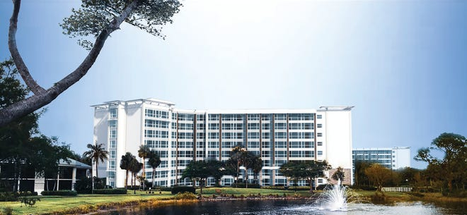 The availability of Tower Residences (shown) will be discussed during the informational event at Moorings Park.