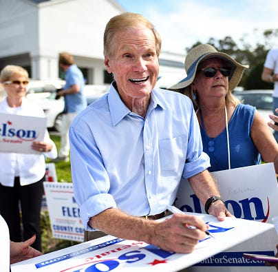 Democrat Bill Nelson sues for access to Fla ballots submitted illegally in GOP-rich county