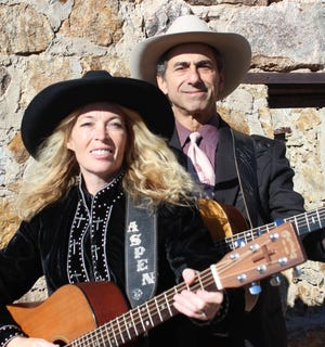 Aspen Black and Kerry Grombacher will be in concert at 6 p.m. on Monday at Luna Rossa Winery, 3710- W. Pine St.