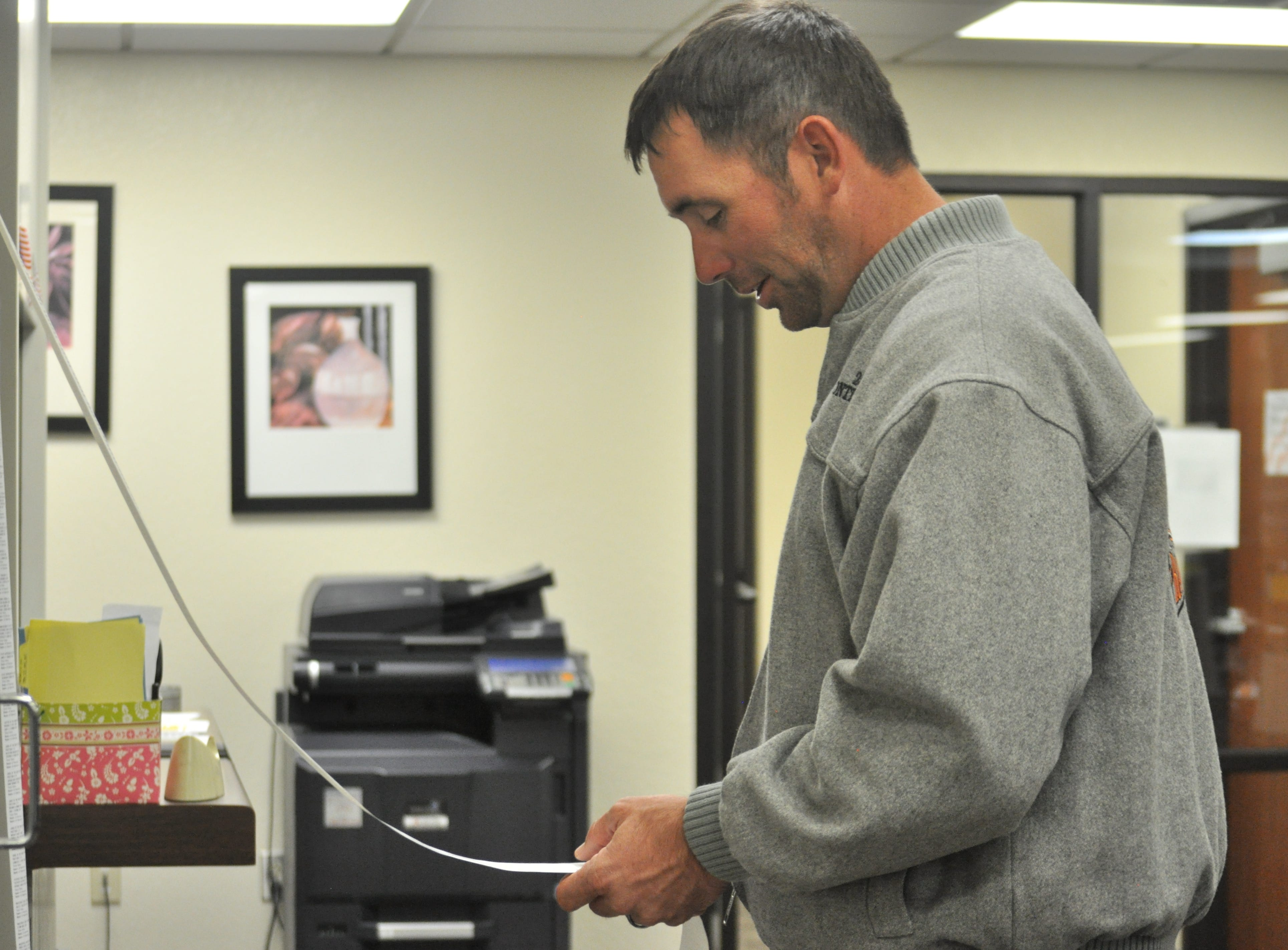 Steven McCutcheon review returns Oct. 6 at the Eddy County Clerk's Office.