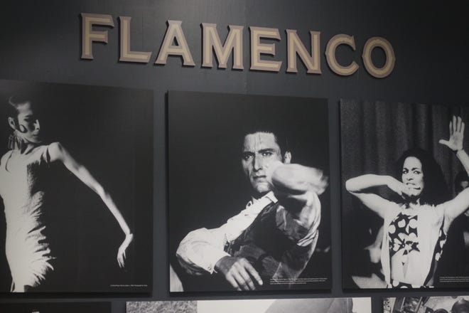 An exhibit celebrates traditional Flamenco culture, Nov. 7, 2018 at the Carlsbad Museum and Art Center.