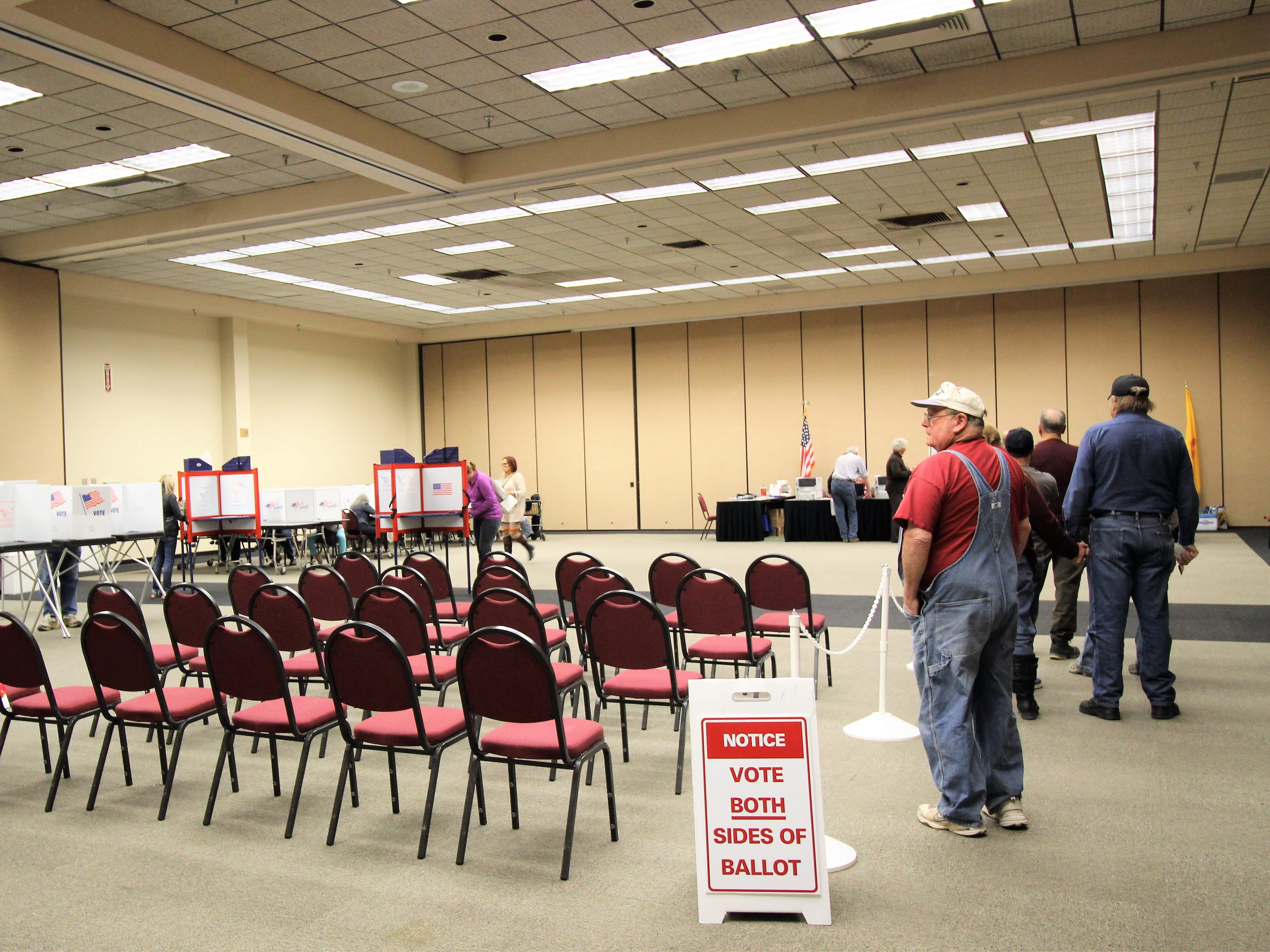 Lincoln County voters beat turnout for last midterm by about 15 percentage points