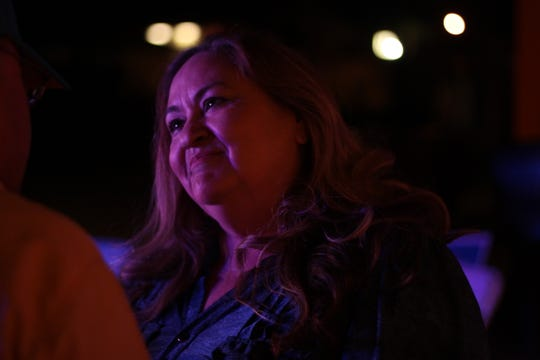 Coachella City Council Candidate Josie Gonzalez at her election party on Nov. 6.