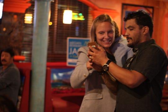 Coachella City Council Candidate Megan Beaman-Jacinto at her Nov. 6 election party