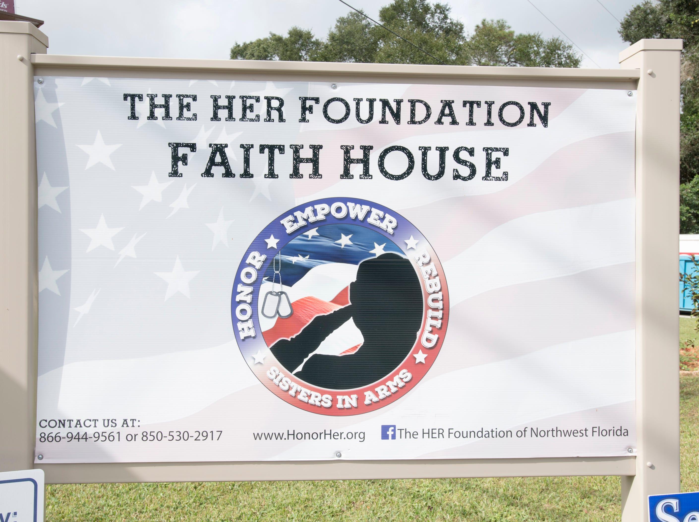 HER Foundation Faith House on West Fairfield Drive in Pensacola on Wednesday, November 7, 2018.