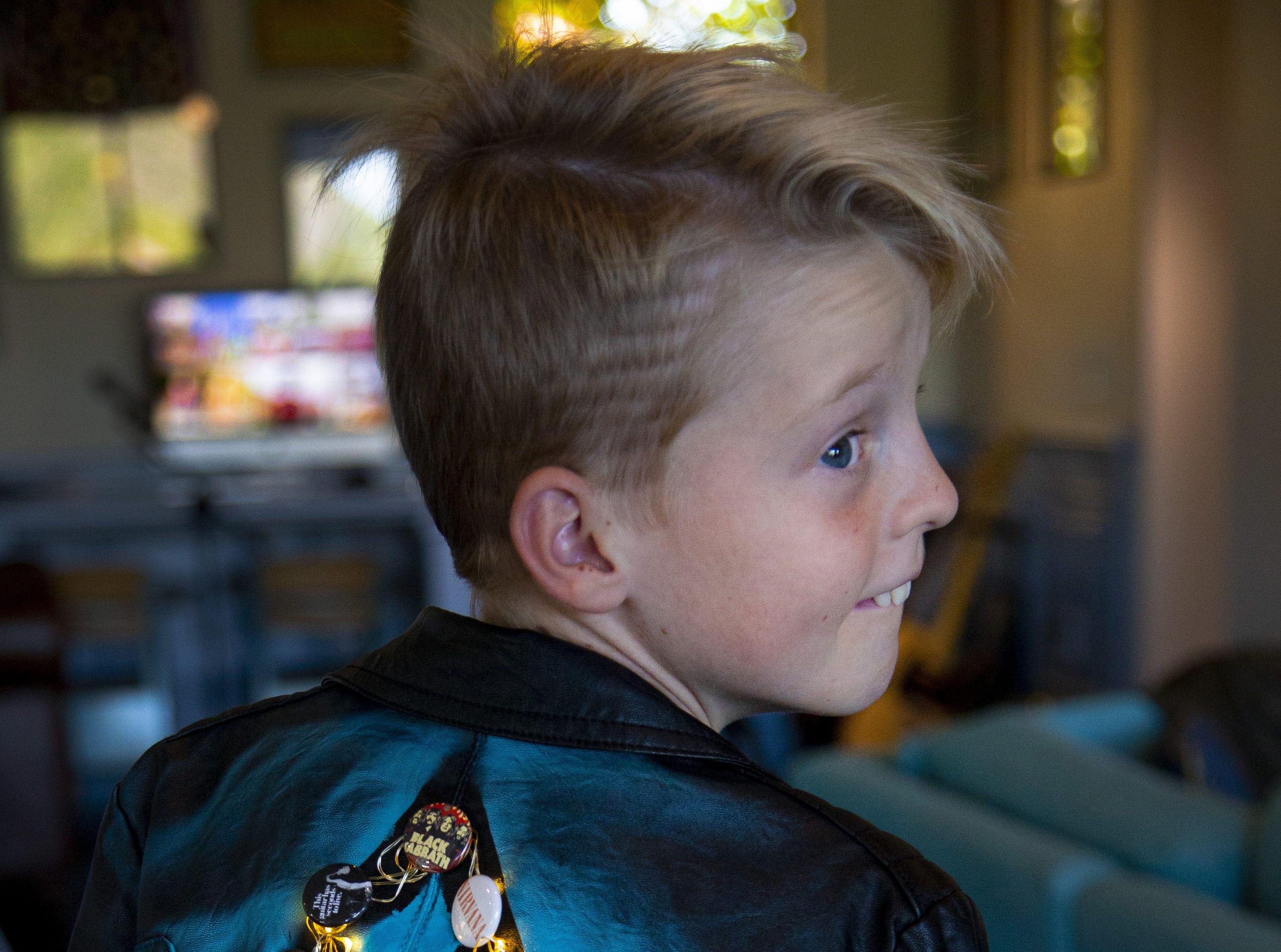 Vedder Gabriel, 10, of Peoria.