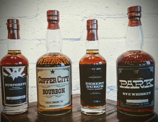 Give the gift of Arizona-made whiskey this year, courtesy of Tempe-based Arizona Distilling Co.