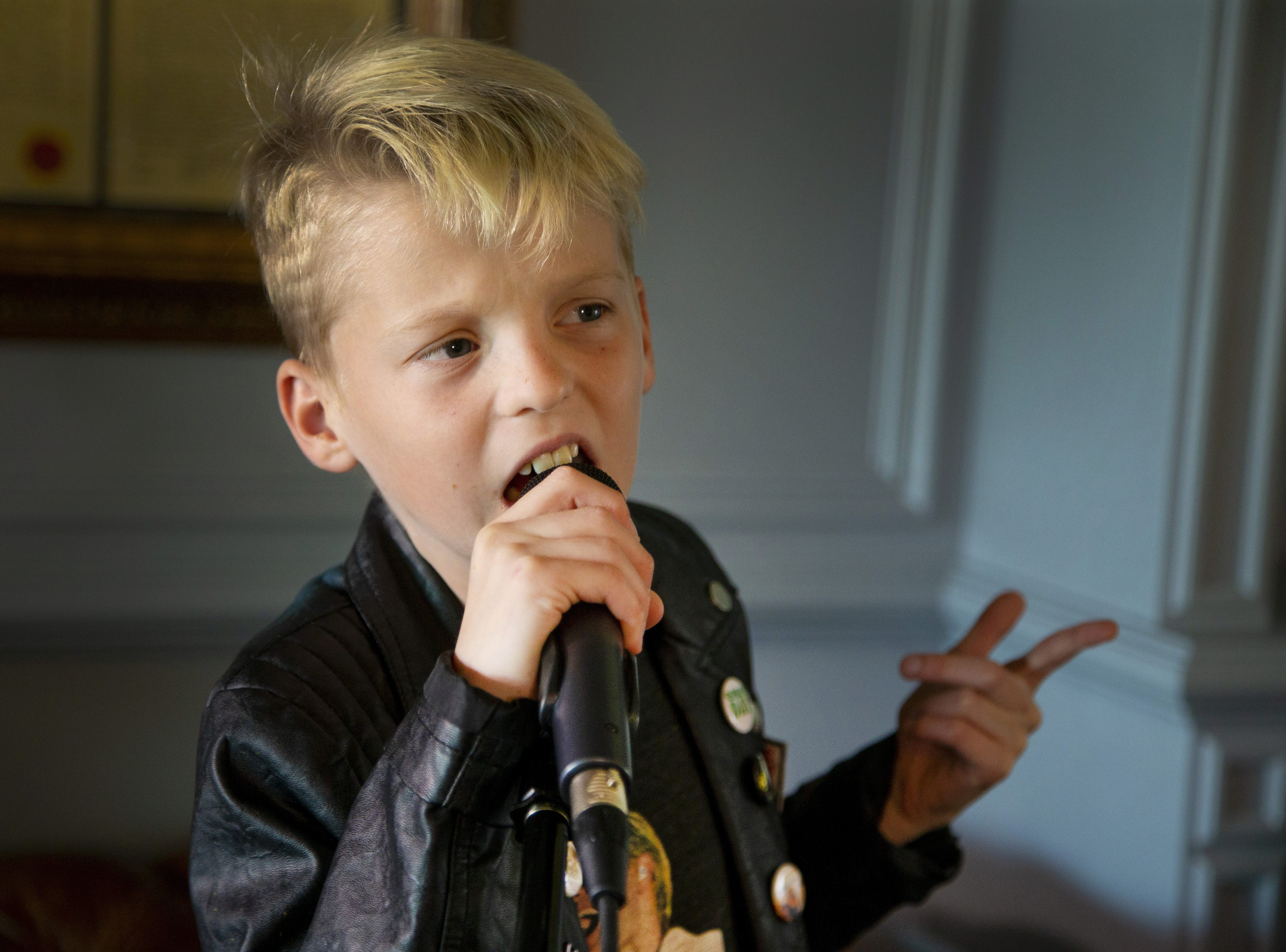 Vedder Gabriel, 10, of Peoria, is the kid who seems to wind up singing with huge celebrities in a variety of genres, from Chris Stapleton to Jared Leto. Gabriel and his twin sister, Winter, were born premature. He was not expected to live. Vedder loves music and even attends the School of Rock.