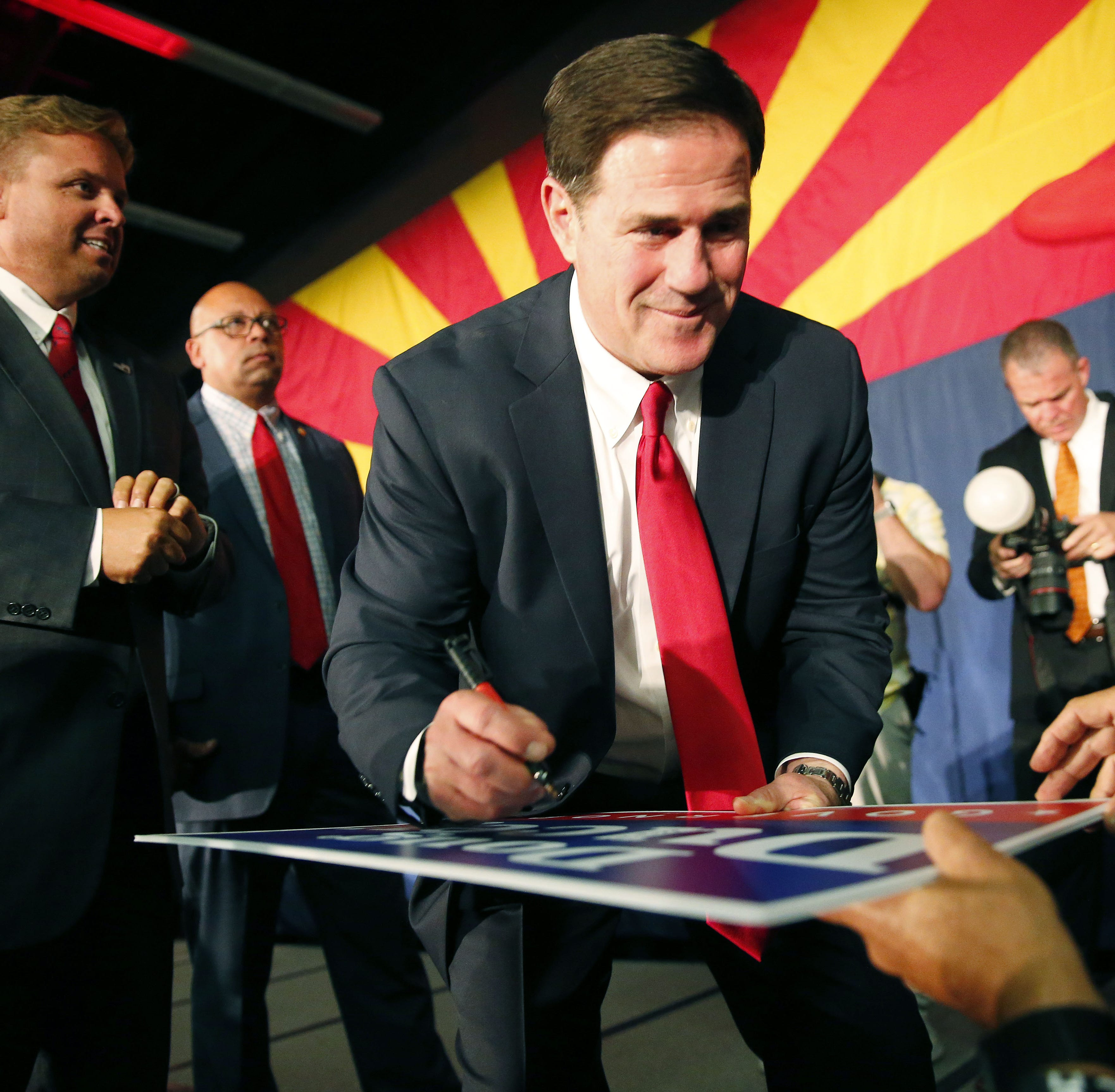 Why Gov. Doug Ducey broke the blue wave in Arizona - and likely saved a lot of Republicans