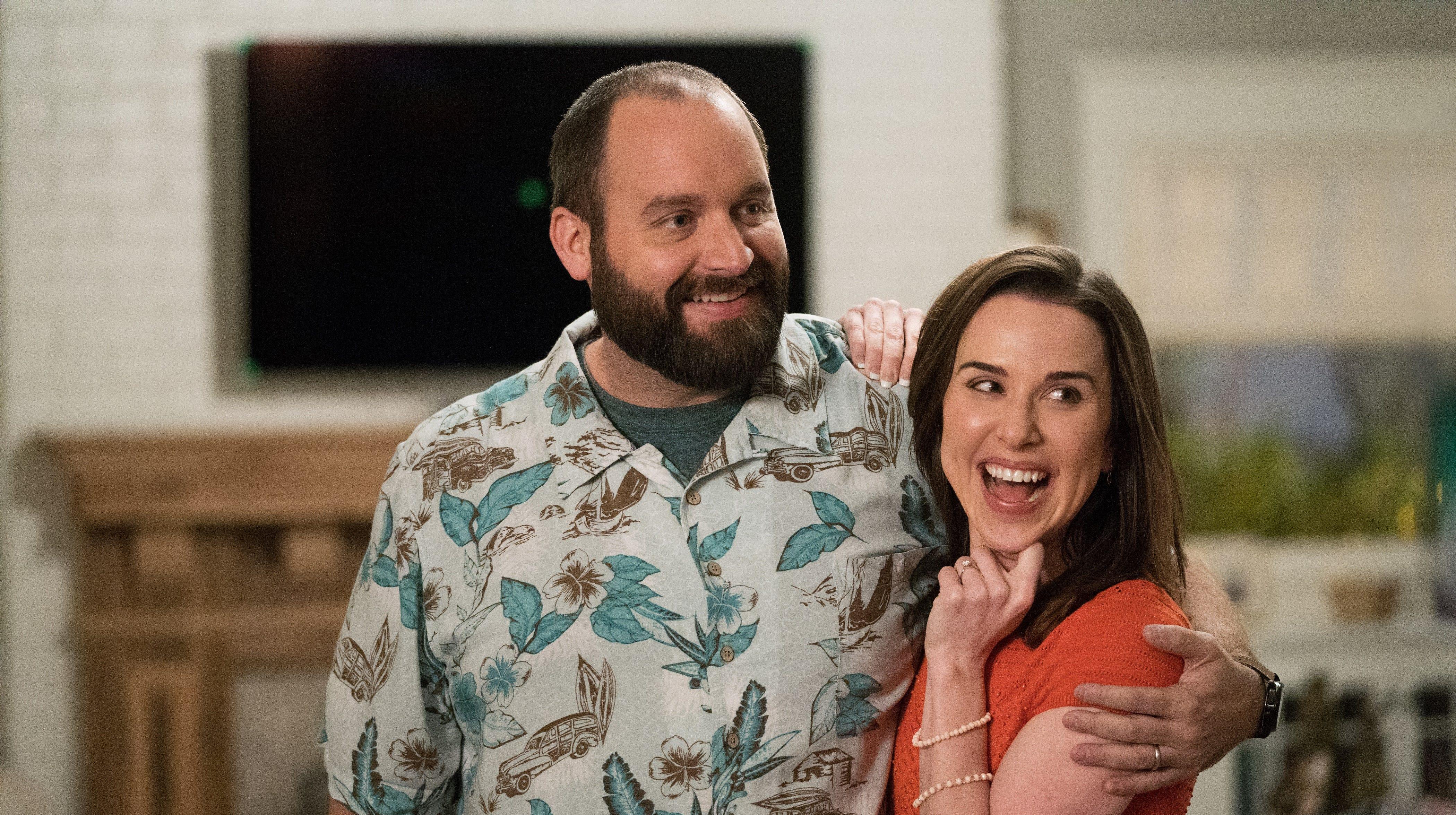 """Tom Segura and Allyn Rachel star in """"Instant Family."""""""