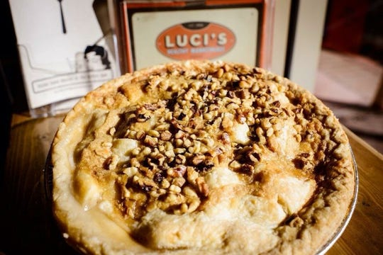 Pecan pie from Luci's Health Marketplace.