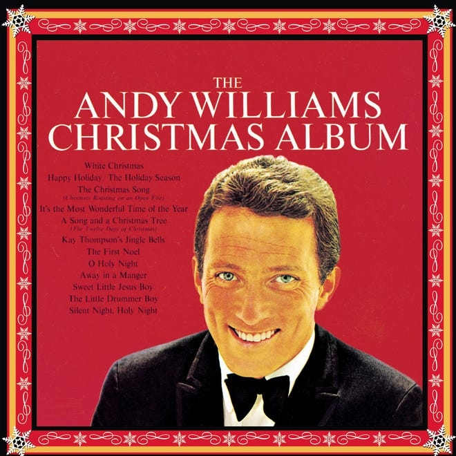 """""""The Andy Williams Christmas Album"""" was released in 1963."""