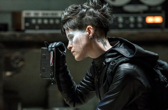 "Claire Foy stars in ""The Girl in the Spider's Web.""  The movie opens Nov. 9 at Regal West Manchester Stadium 13, Frank Theatres Queensgate Stadium 13 and R/C Hanover Movies."