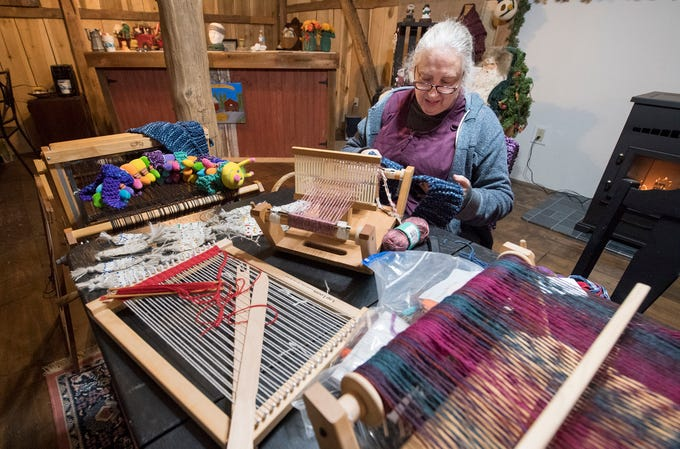 Wendy Colby teaches weaving at the Teaching Museum for the Fiber Arts & Textiles near Winterstown. It's just one of the stops on the York/Adams Best Kept Secrets Tour going on through Nov. 17. You can learn more about the tour of 25 stops at bestkeptsecretstour.com.