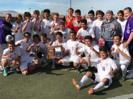 Spanish Springs won the boys Northern 4A championship.