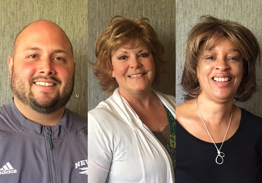 Andrew Caudill, Ellen Minetto and Jacqueline Calvert elected to the Washoe County School District Board of Trustees.