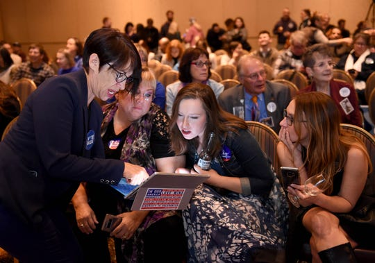 Photos: The Democratic party at the Reno Ballroom.