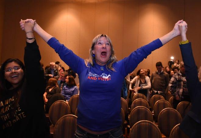 Photos: The Democratic party at the Reno Ballroom.