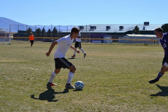 Gavin Owens has 14 goals and 10 assists for North Valleys.