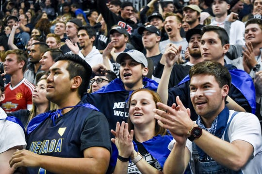 The crowd of 11,094 was the 16th-largest in Lawlor Events Center history.