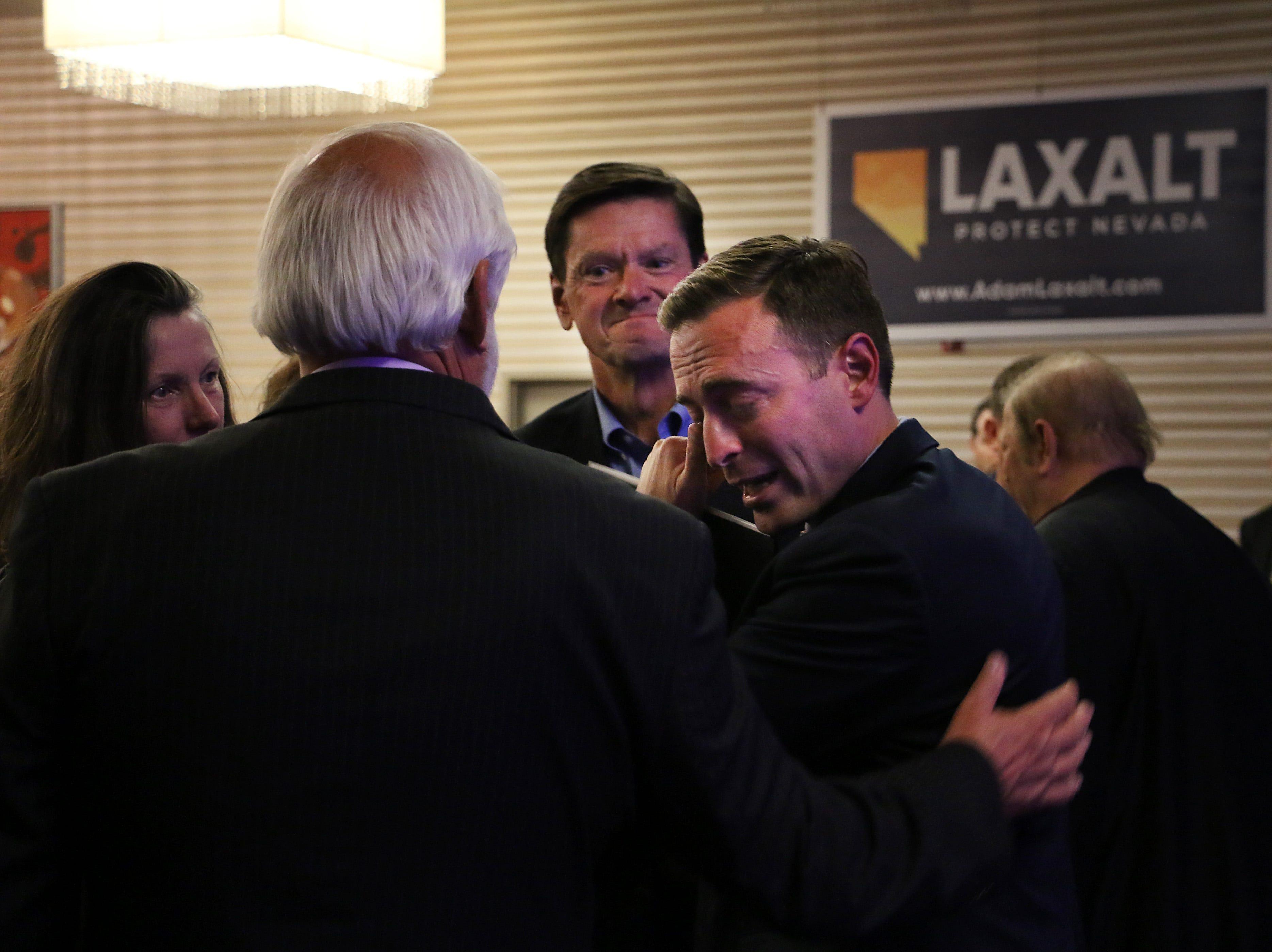 Adam Laxalt concedes campaign in Reno