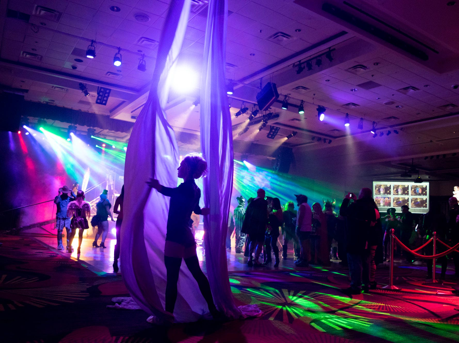 Scenes from the Wild Erotic Ball on Friday, Oct. 26, 2018, inside the Silver Legacy Casino. Reno, Nev.