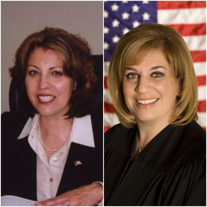 Ann Marie Taddeo and Victoria Argento.