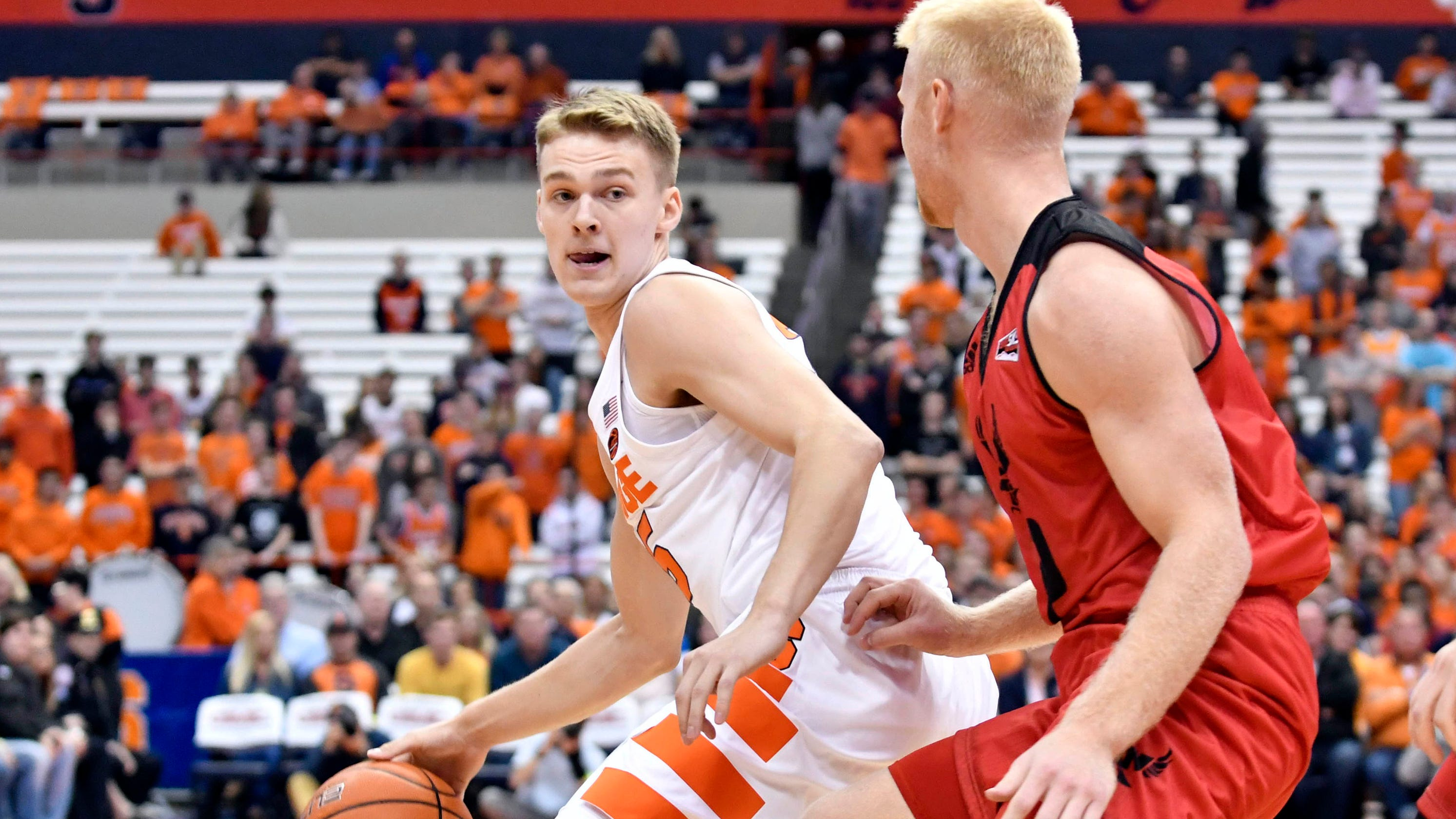 What is Syracuse basketball player Buddy Boeheim's real name?