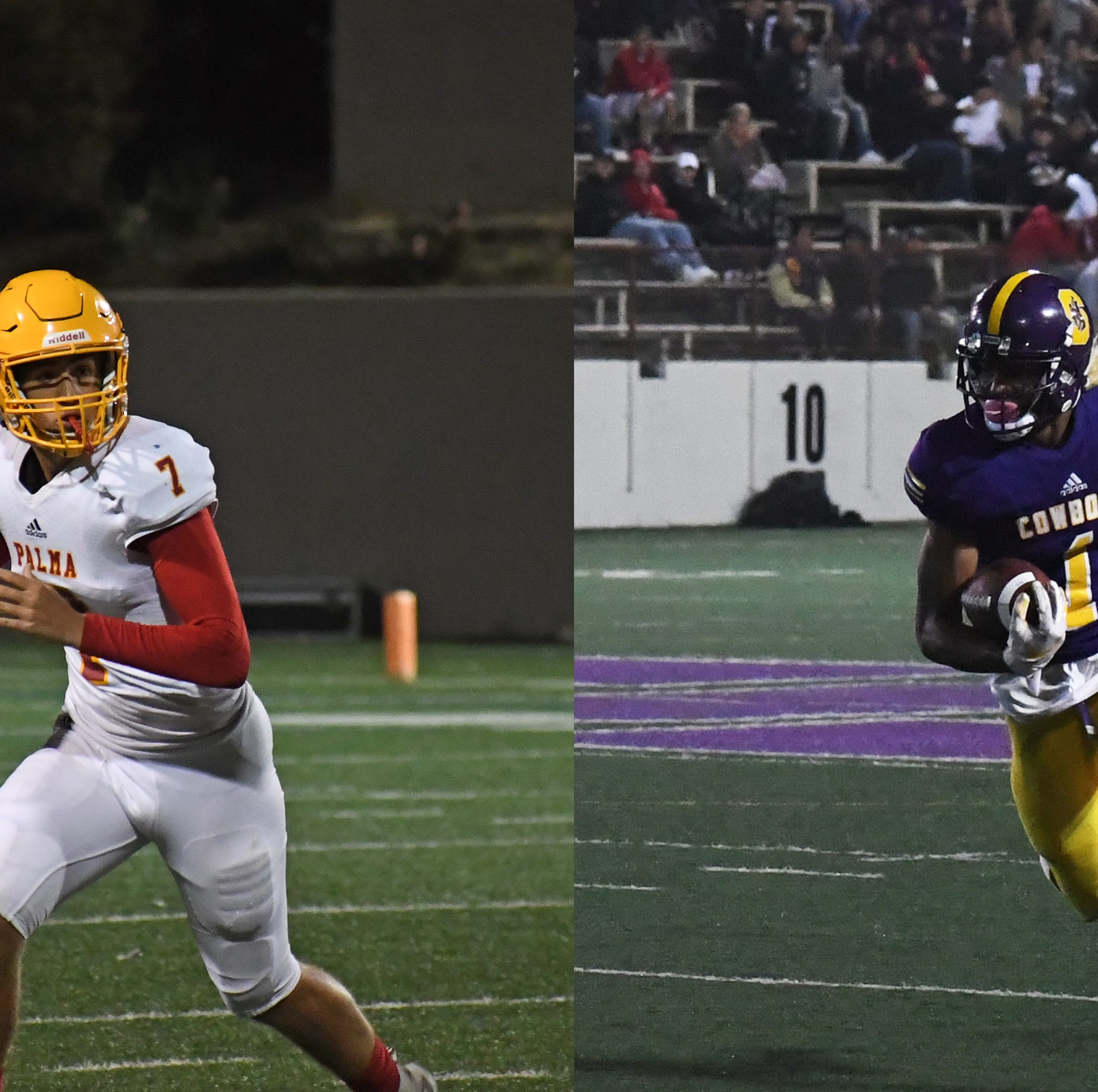 Live Coverage: Salinas, Palma Playoff Football