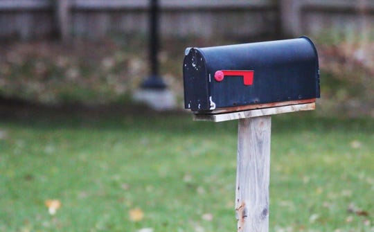 The mail box, as seen Nov. 5, that Raeann Schroeder of Sheboygan noticed was full of mail at the Sheboygan home of Barbara Braden in September before discovering the fallen 85-year-old at her home. Braden was laying by her bed unable to get up for eight days.