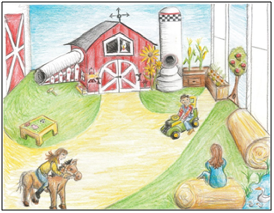 The Toddler Room at Above & Beyond Children's Museum in Sheboygan is set to transform to the Melitta S. and Joan M. Pick Toddler Barnyard.