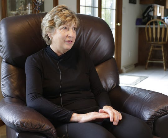 Raeann Schroeder of Sheboygan talks about her story finding Barbara Braden fallen in her home.