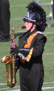 Maggie Moncado, a junior at Republic High School, was invited to join Macy's Great American Marching Band.