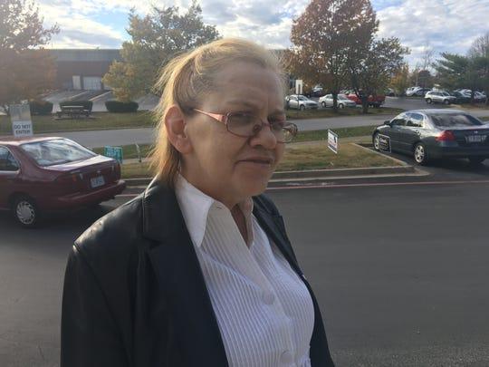 Karen Betteridge, 62, voted at Schweitzer Brentwood Branch Library on Nov. 6, 2018.