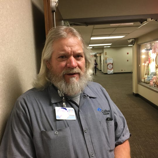 Greg Lane, 59, lives in Springfield and voted at the central polling station on the campus of Cox South hospital on Nov. 6, 2018.