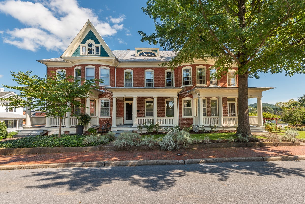 two homes turned into one in staunton historic district on the market rh newsleader com