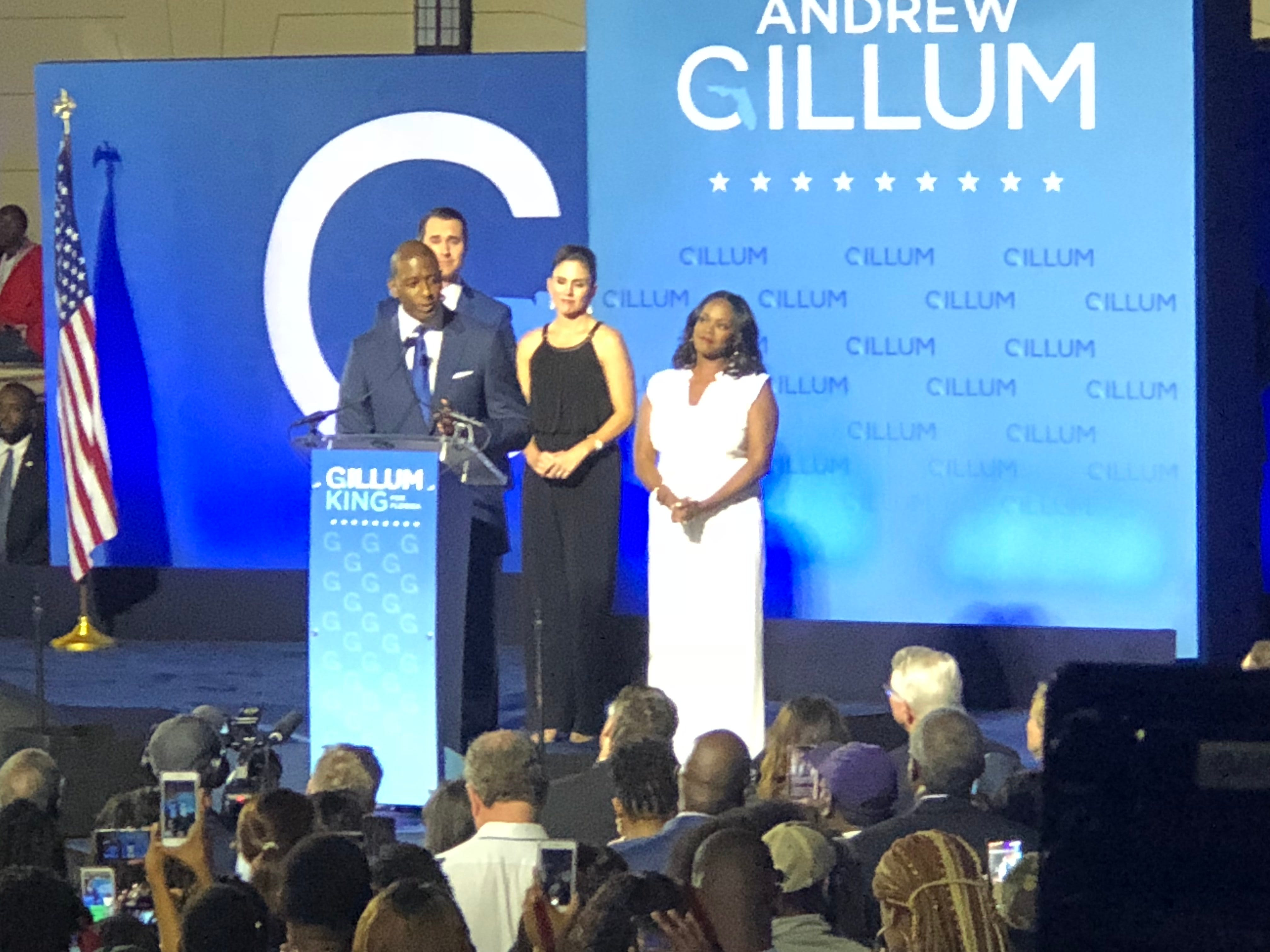 Andrew Gillum gives tearful concession speech after close gubernatorial race