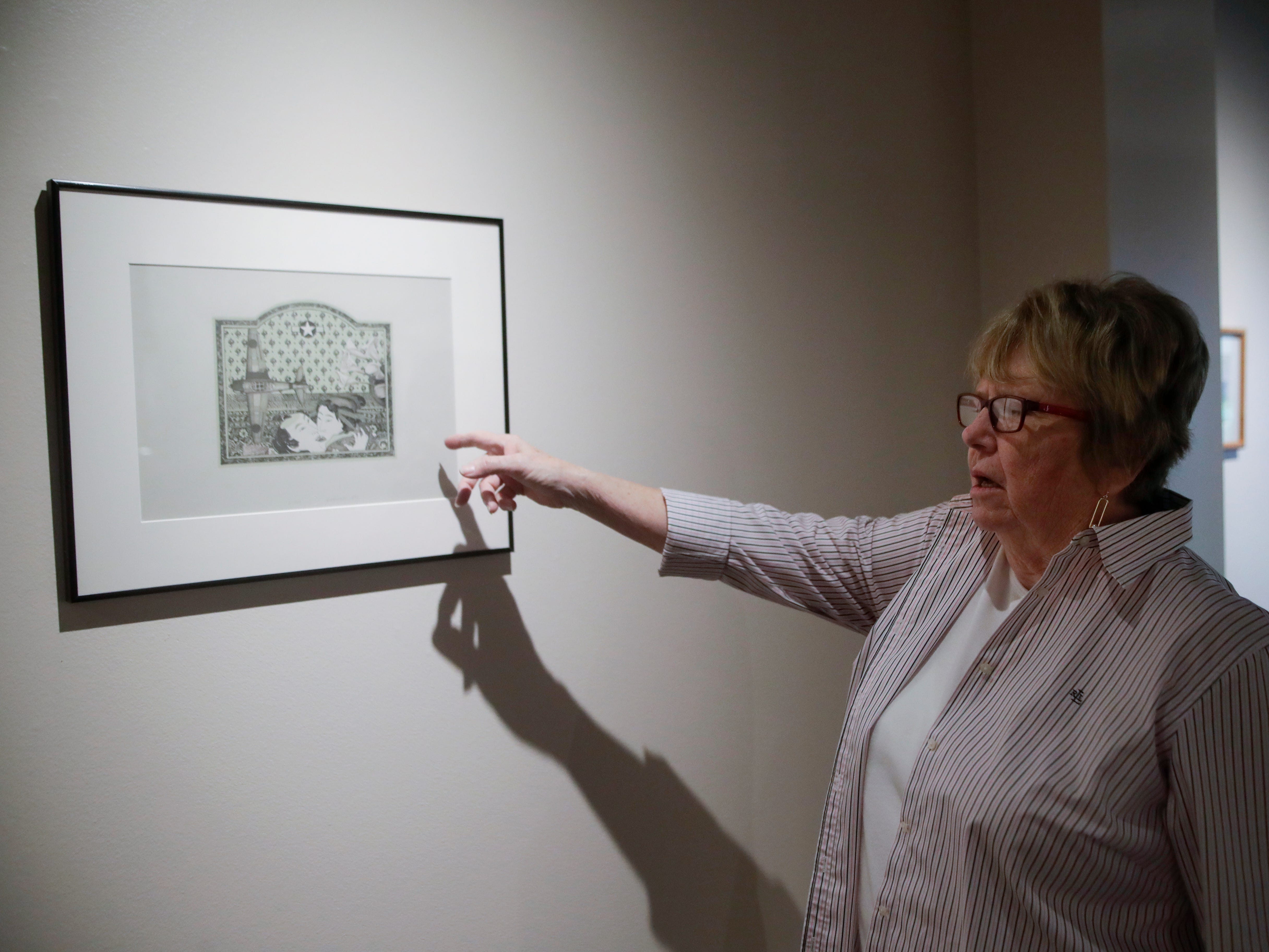 "Museum curator Barbara Cohenour talks about ""500 Years of Printmaking: the FSU Collection"" which is on display now in the TCC Fine Arts Gallery on the TCC campus."