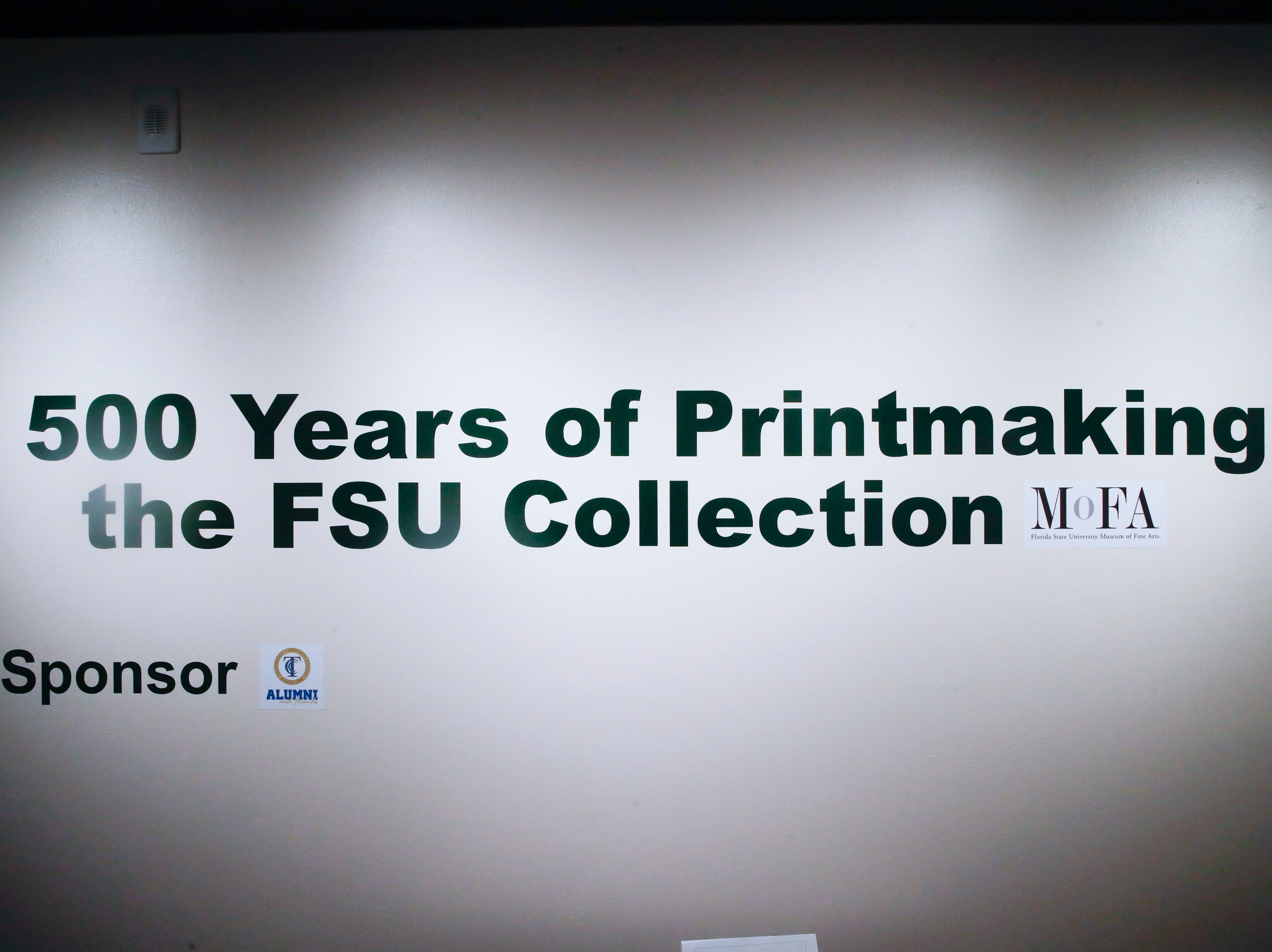 """500 Years of Printmaking: the FSU Collection"" is on display now in the TCC Fine Arts Gallery on the TCC campus."