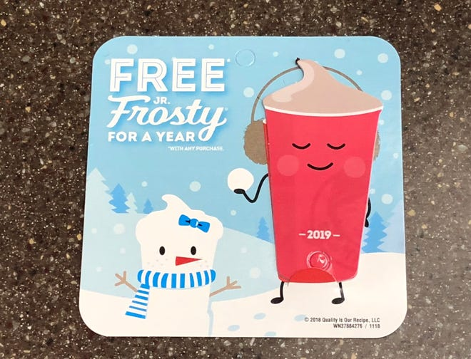Wendy's Frosty Key Tag is back for a limited time.
