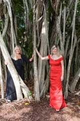 "Hibiscus Children's Center ""Wonderland Gala"" Chairs Rosemary Smith and Petra King. The gala is Dec. 8 at  The Moorings Yacht & Country Club, Vero Beach. For tickets, call 772-299-6011, ext. 313 or online at HibiscusChildrensCenter.org."