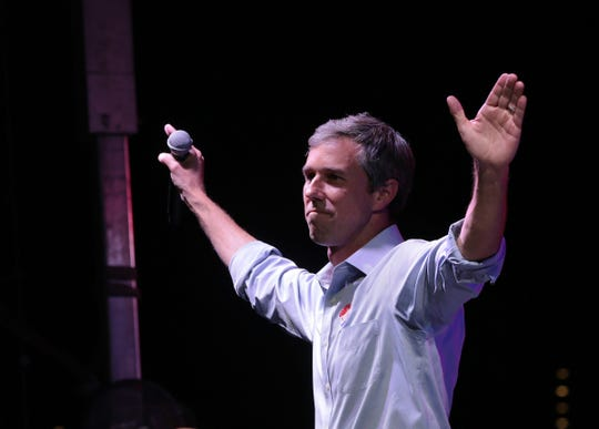 Texas Senate candidate Beto O'Rourke took the stage a little after 10 p.m. on election night with his wife, Amy Sanders O'Rourke, and conceded the race to incumbent U.S. Sen. Ted Cruz. A sad but still energized crowd cheered on O'Rourke as he gave a passionate speech at the packed Southwest University Park.