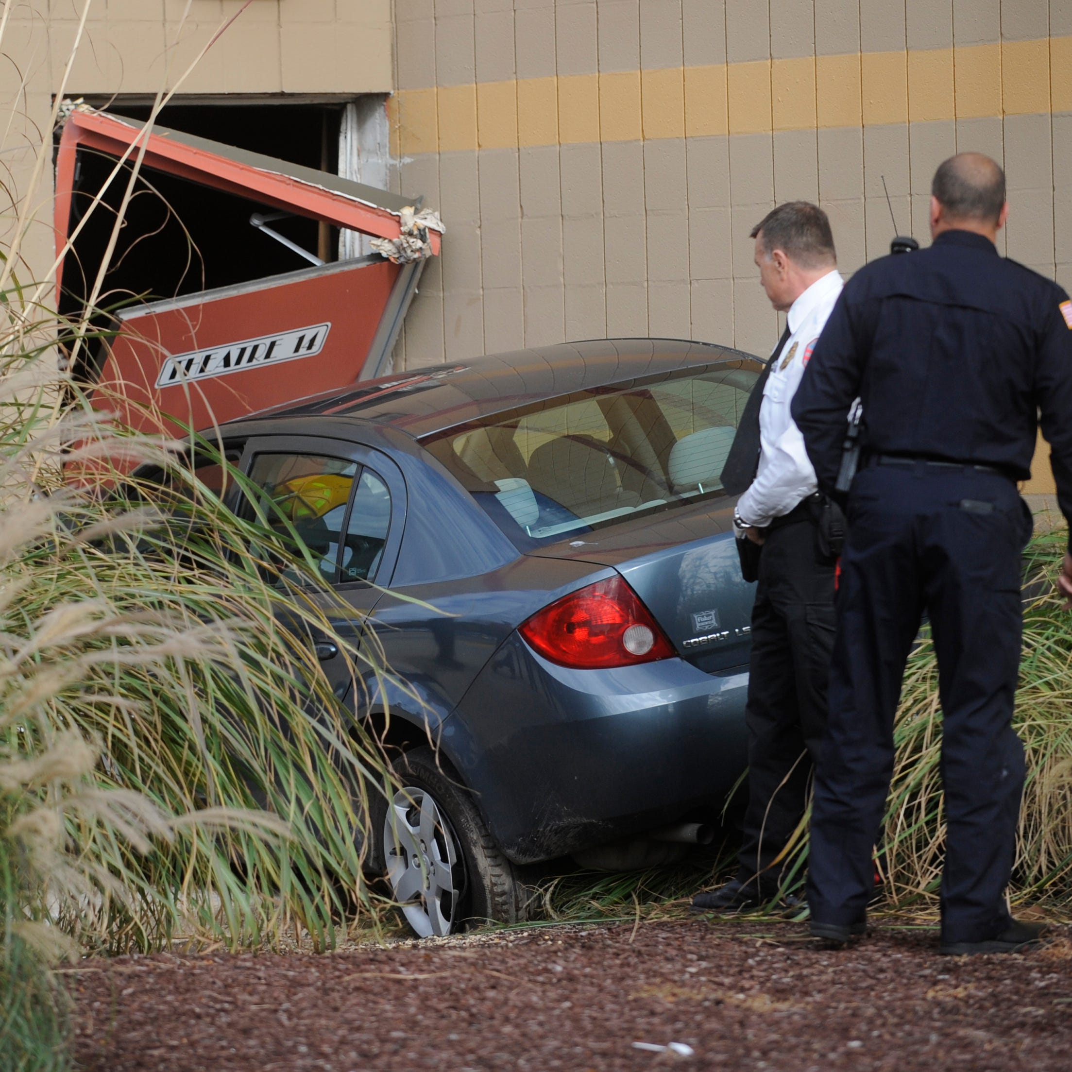 Car zooms into Vineland cinema, police investigating