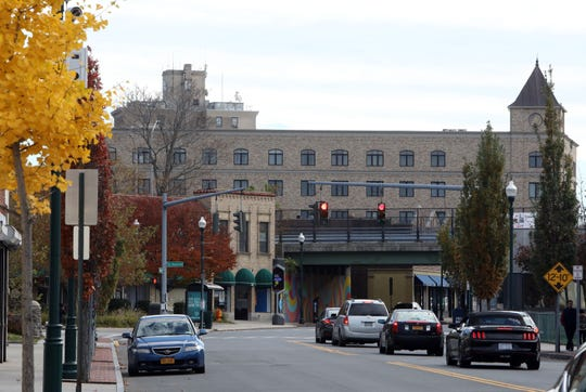 Looking at a stretch of North Avenue in New Rochelle known as the Lincoln Avenue corridor, Nov. 7, 1018. The city just received a $10 million grant to revitalize the Lincoln Avenue corridor, which runs between Webster and North avenues with Lincoln as its northern border, to the downtown.