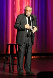 LOS ANGELES, CA - NOVEMBER 04:  Robert Klein peforms onstagein 2017. The longtime Westchester resident has a one-night show at The Schoolhouse on Nov. 10.