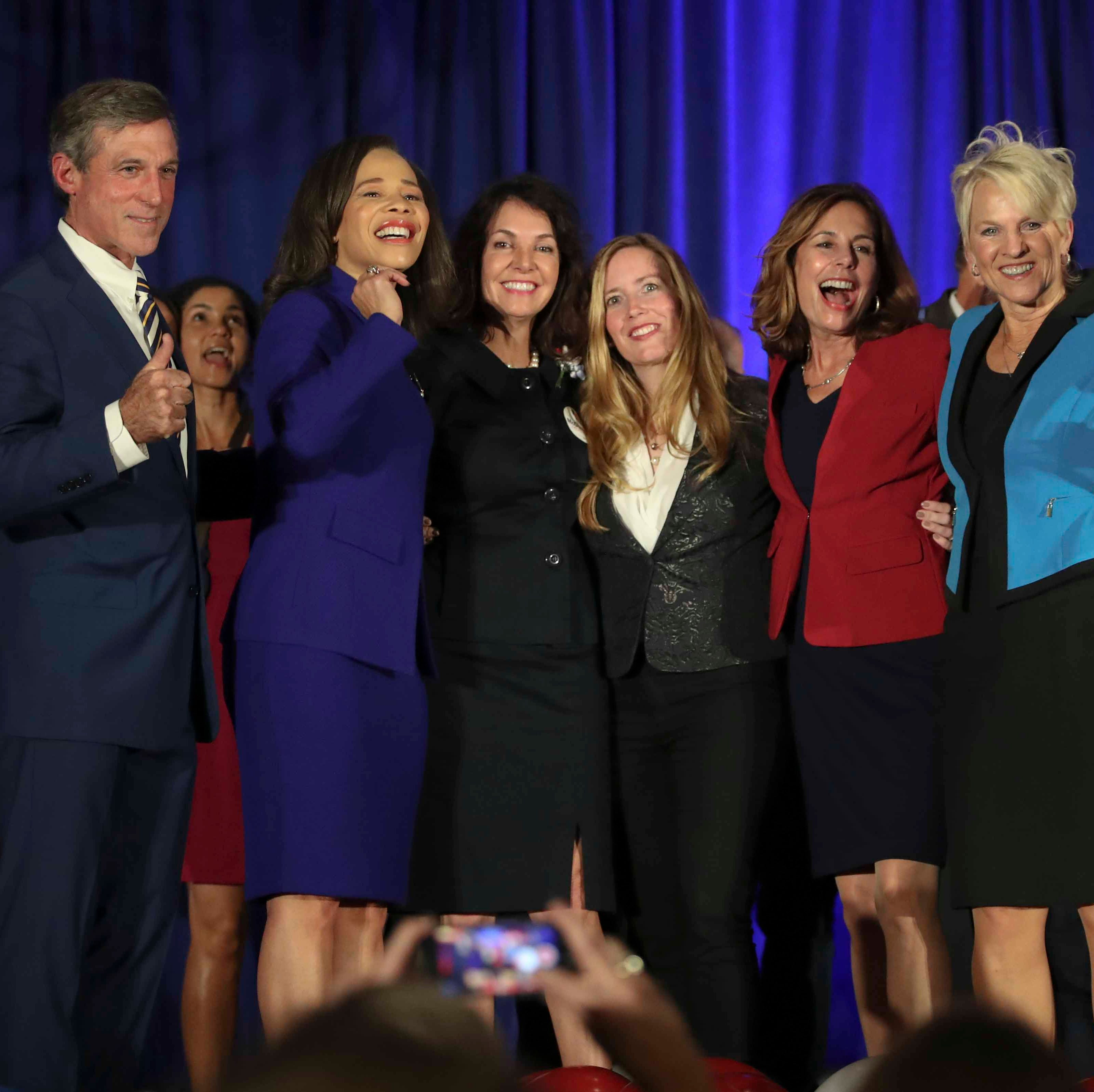 Women led the charge in Delaware's election night victories